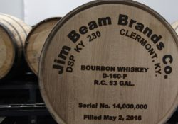Jim Beam fills 14 millionth barrel of Bourbon