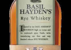Basil Hayden's Unveils Rye Whiskey