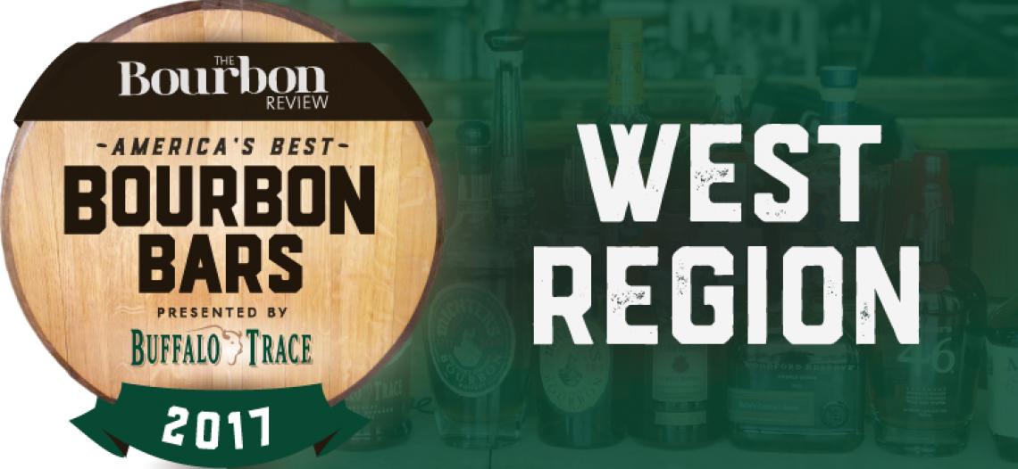 America's Best Bourbon Bars: West Region – 2017