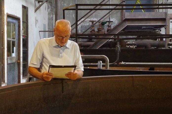 Jim Rutledge at Castle & Key Distillery