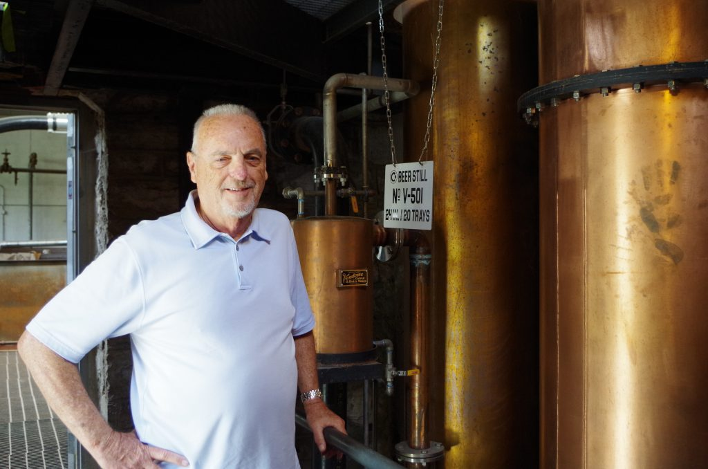 Jim Rutledge at Castle & Key Distillery
