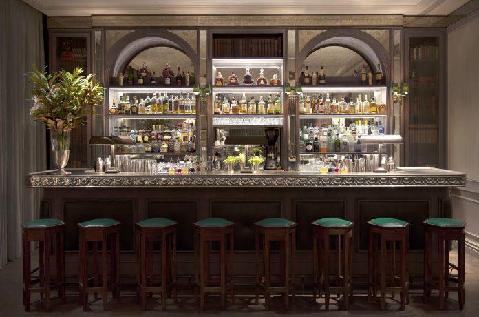 The Norman Hotel Bar.