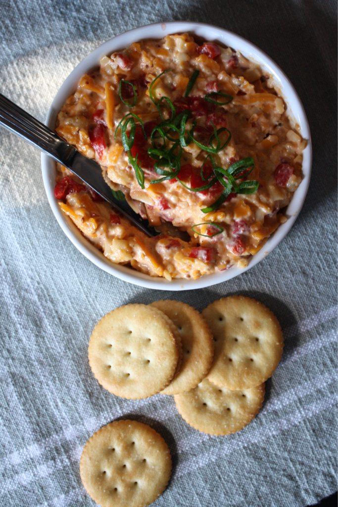 Pimiento Beer Cheese Dip.