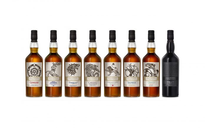 Game of Thrones Whisky Series by Diageo