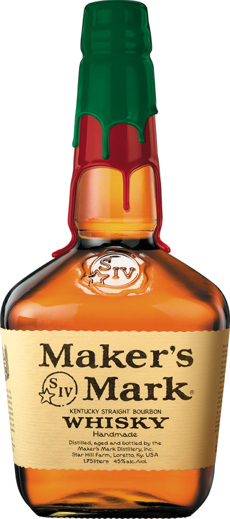 Maker's Mark Holiday Double Dip Bottle.