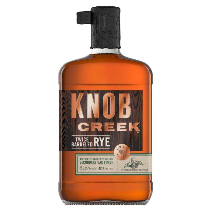 Knob Creek Twice Barreled Rye.
