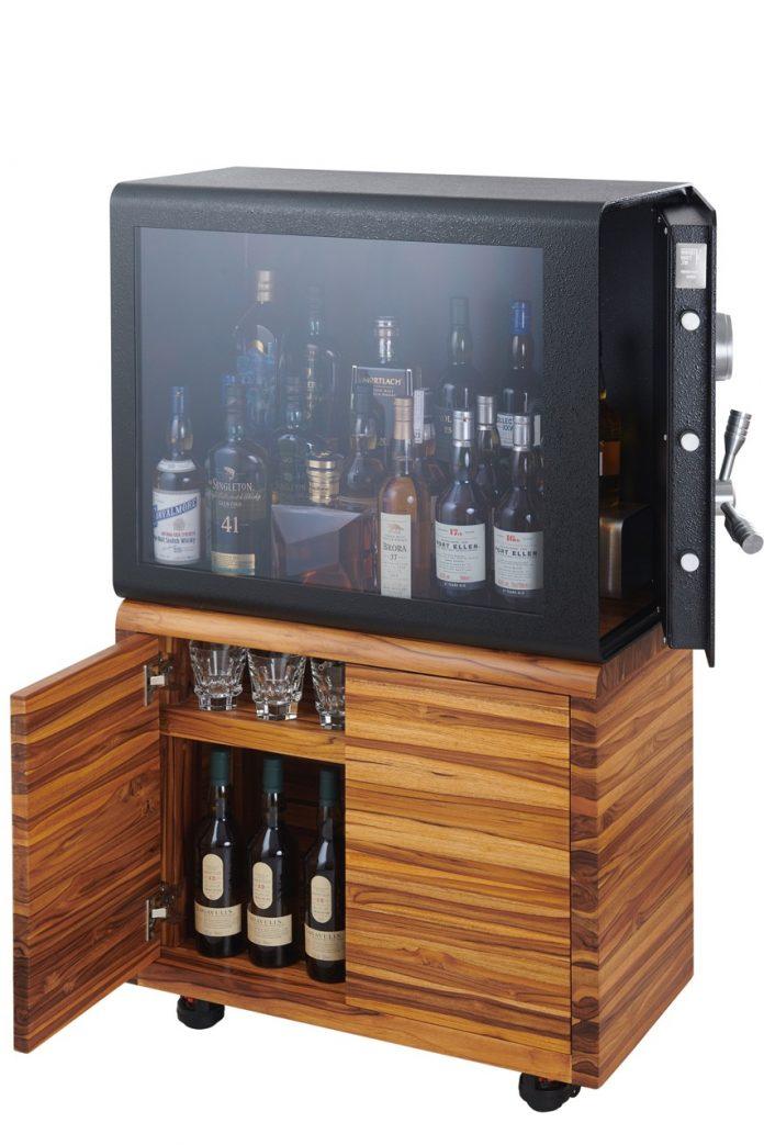 Whisky Vault Bottle Safe.