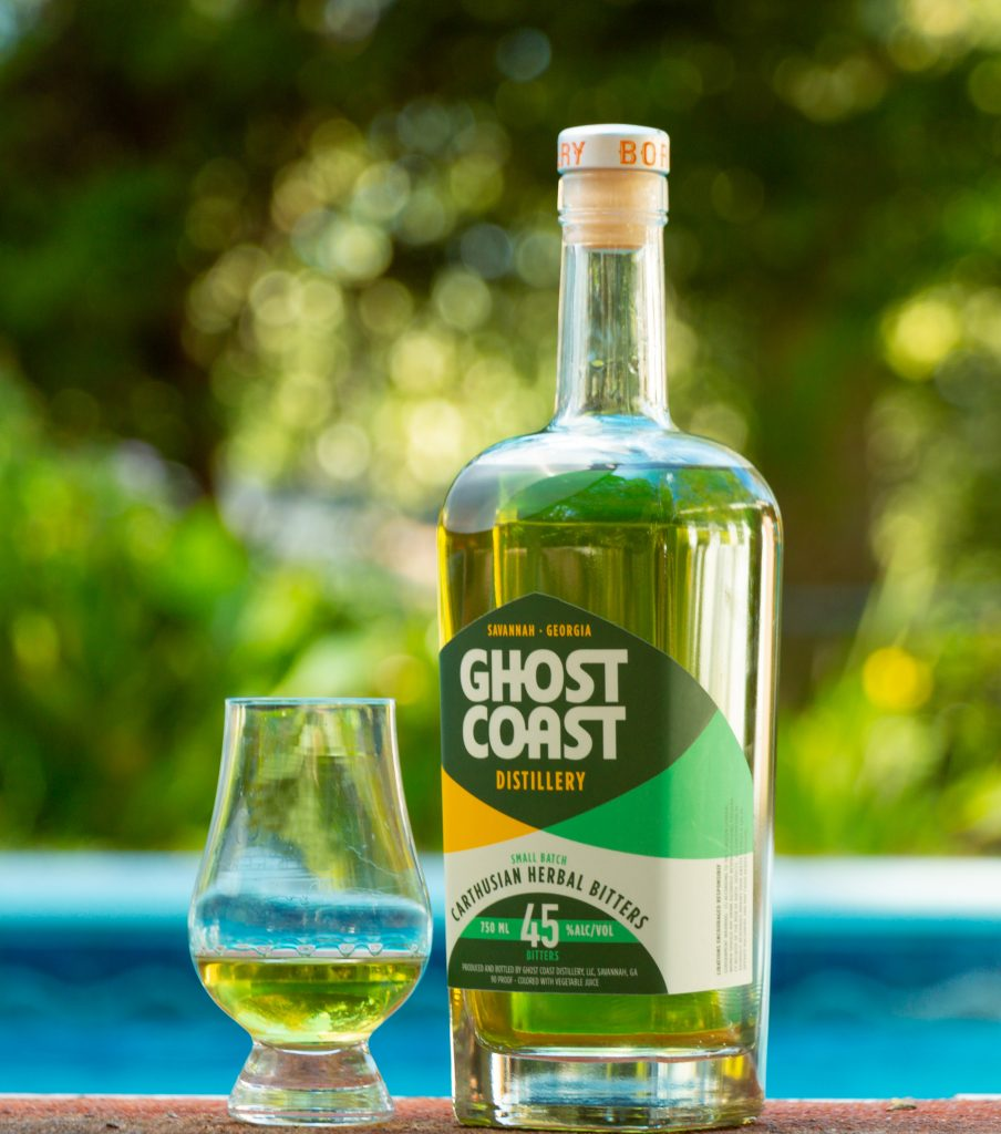 Carth Bitters from Ghost Coast Distillery.