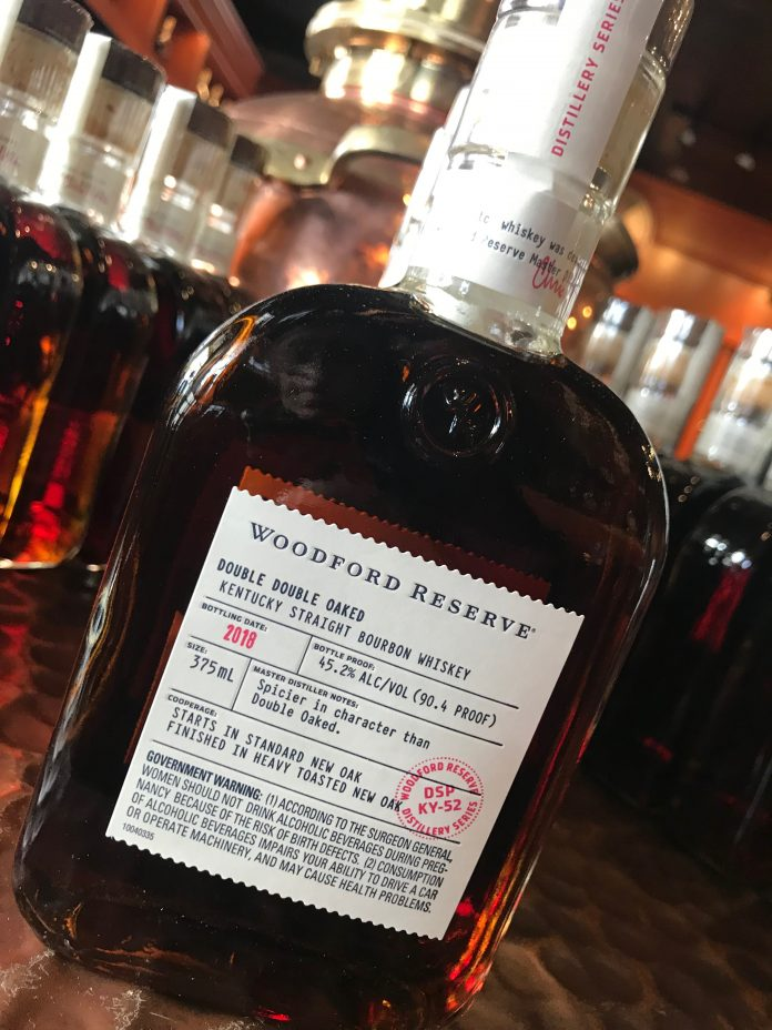 Woodford Double Double Oaked. Courtesy Woodford.