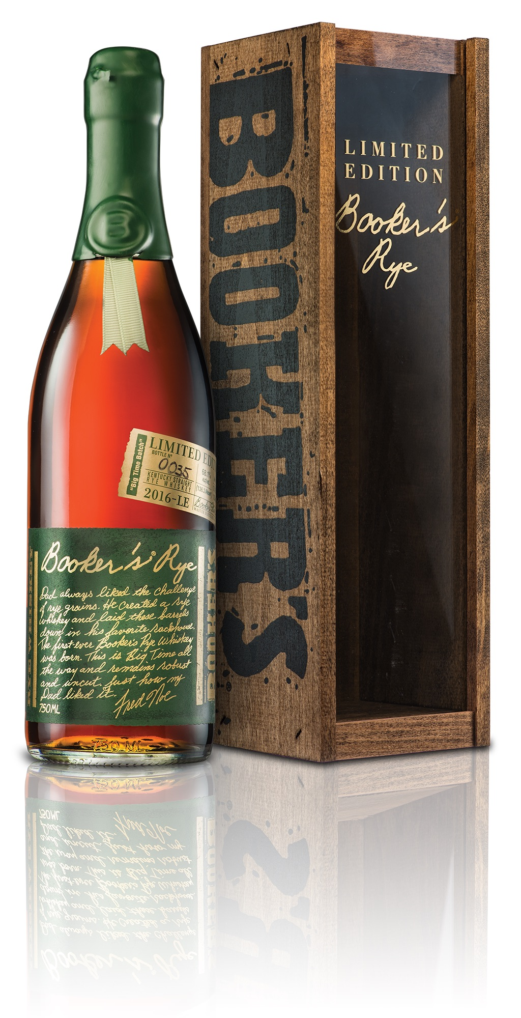 Booker's Rye. Courtesy Beam Suntory.