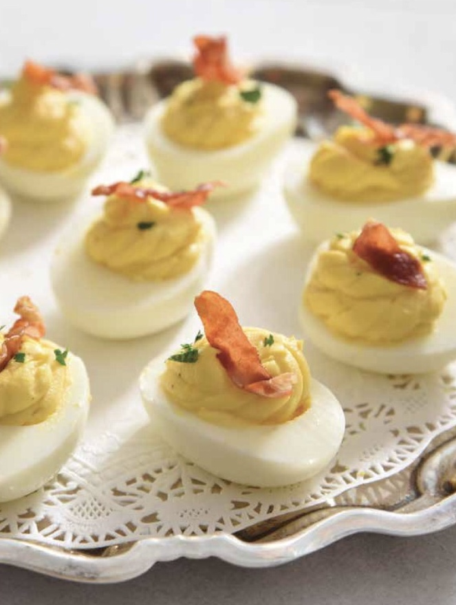Here S How To Make Deviled Eggs With Country Ham From The Bourbon Country Cookbook