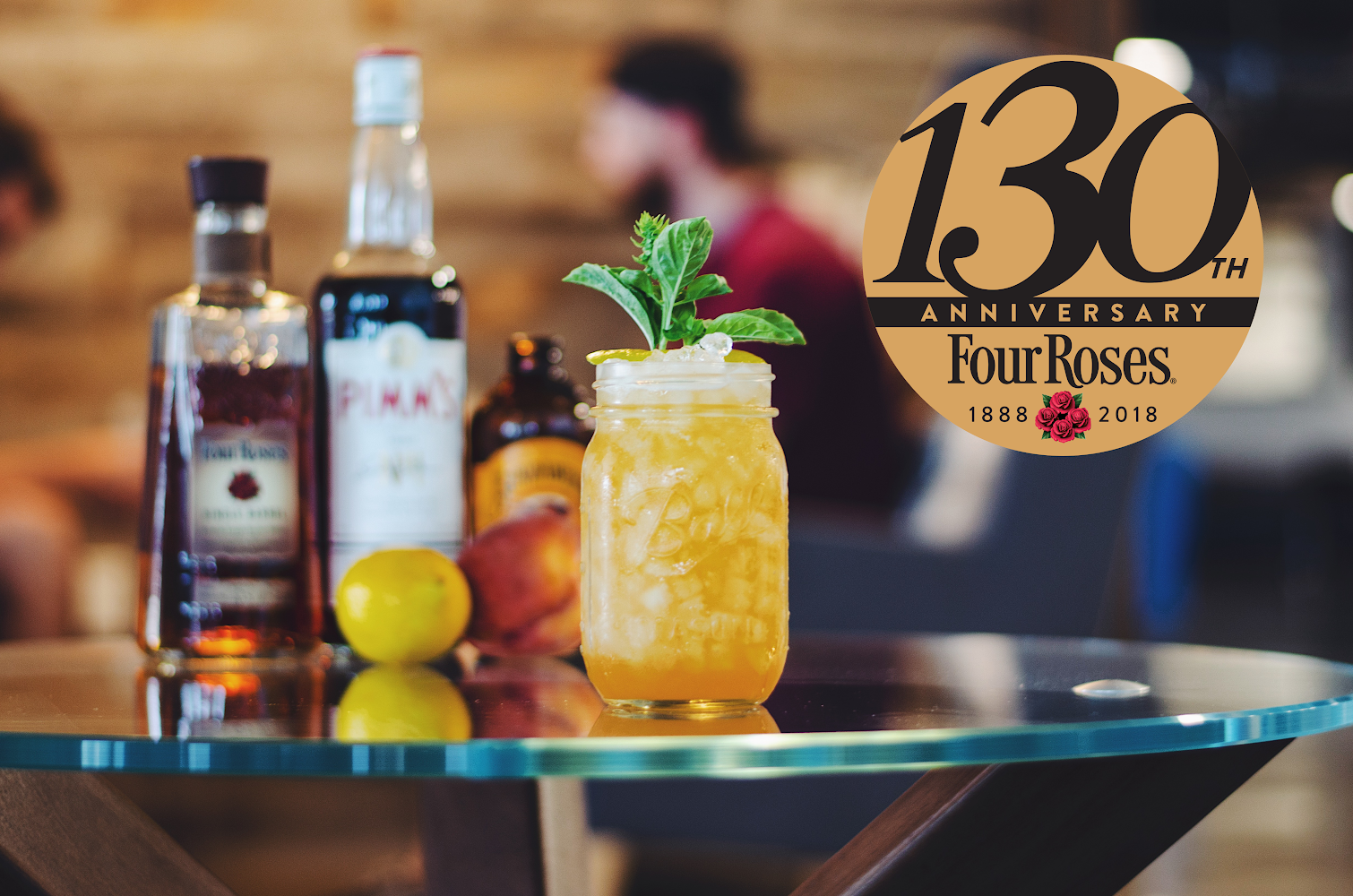 Will Mejia S Peach Rose Wins Four Roses 130th Anniversary Cocktail
