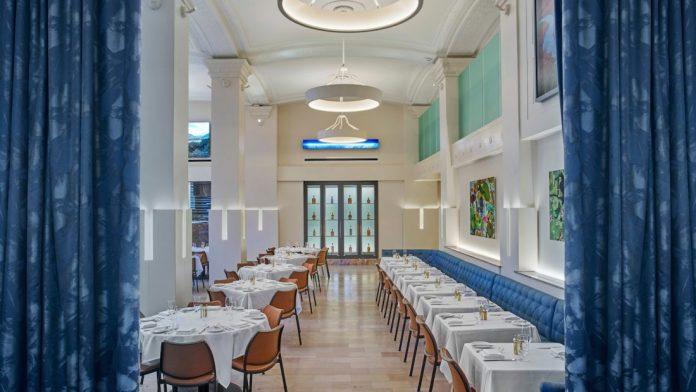 Lockbox Restaurant at the 21c Museum Hotel Lexington
