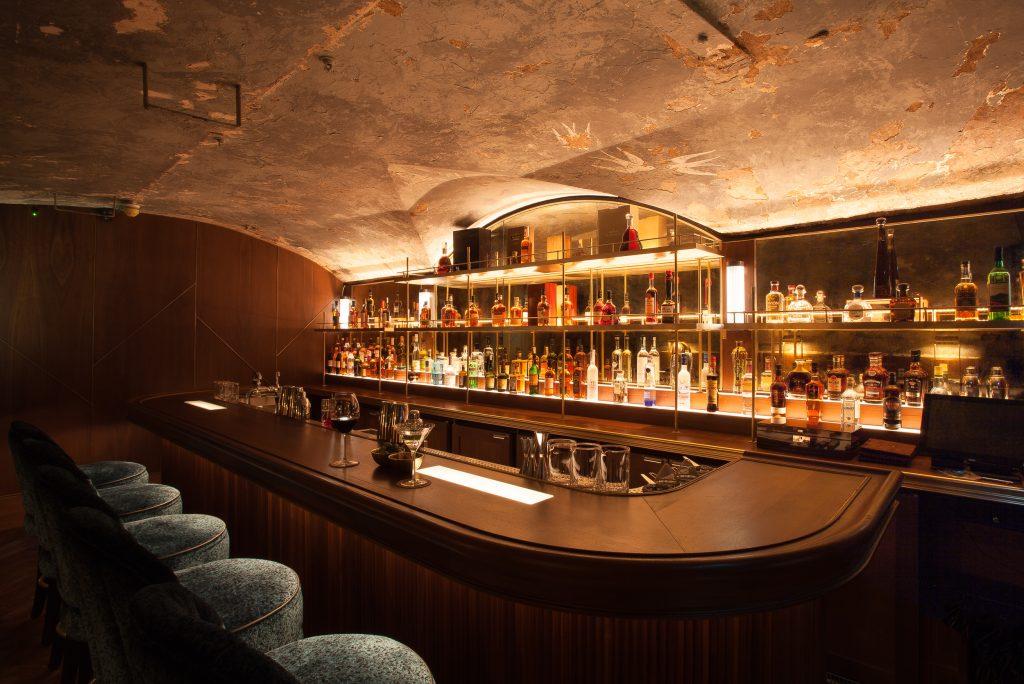 The Bar at 9 Below, Dublin, Ireland.