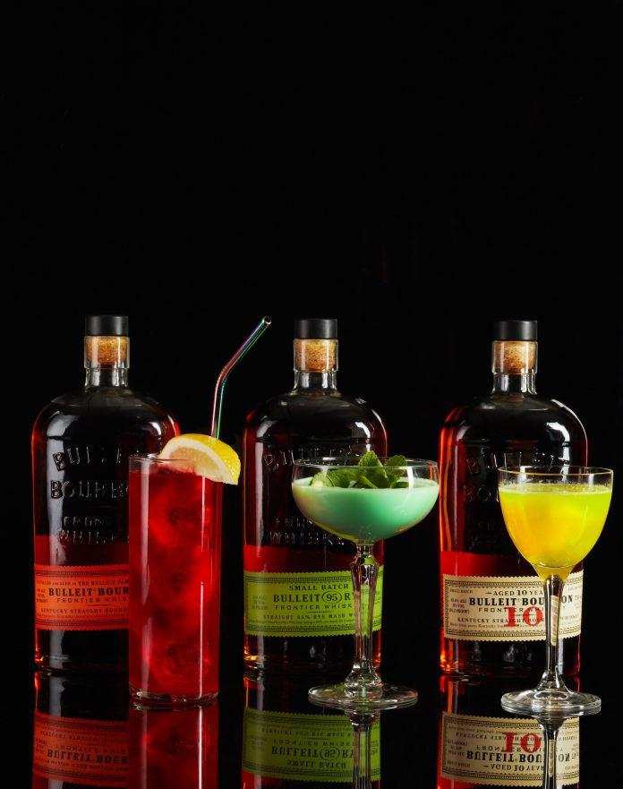 Bulleit Frontier Works Cocktails.