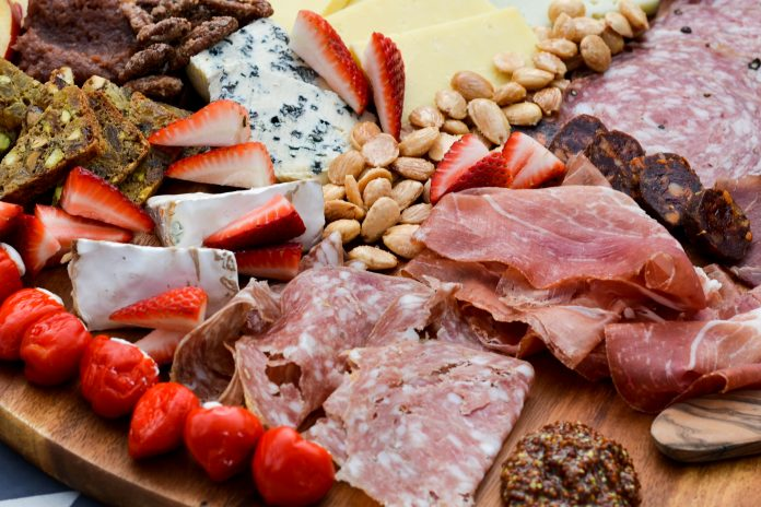 Charcuterie Board. Photo by Natalie Compton.