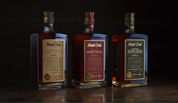 Lux Row Distilling Blood Oath Pacts No. 1-3 Gift Set.