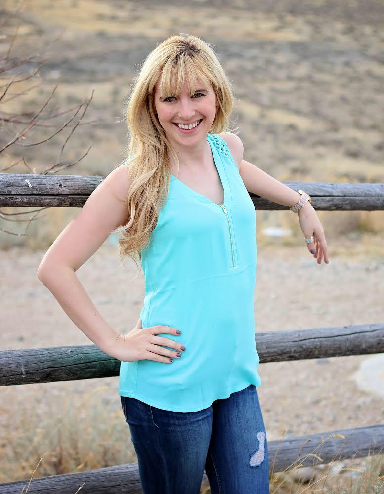 Ashley Hlebinsky in Wyoming.
