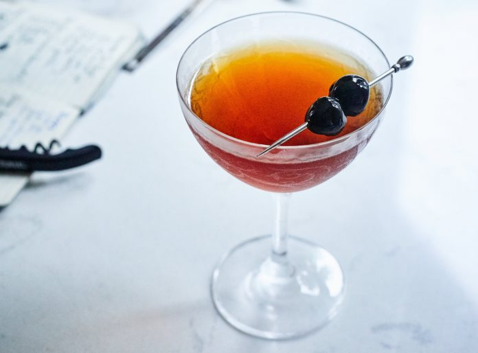 The Perfect Manhattan. Photo credit: Peter Frank Edwards.