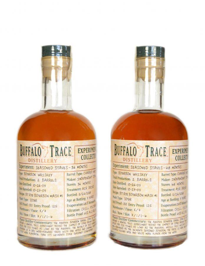Buffalo Trace Seasoned Staves 36 and 48