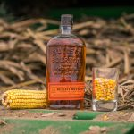 Bulleit Distilling Co whiskey and grain. Photography by ProofMediaMix.com