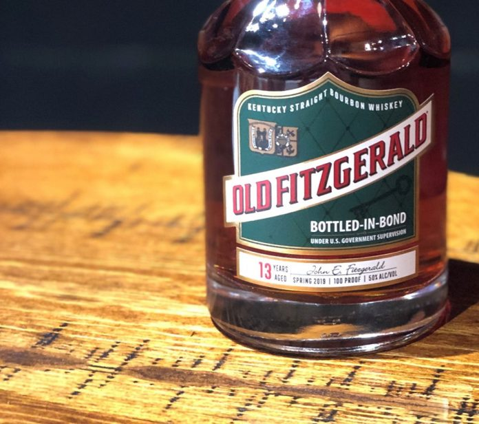 Old Fitzgerald Bottled-in-Bond 13yr. Courtesy Heaven Hill.