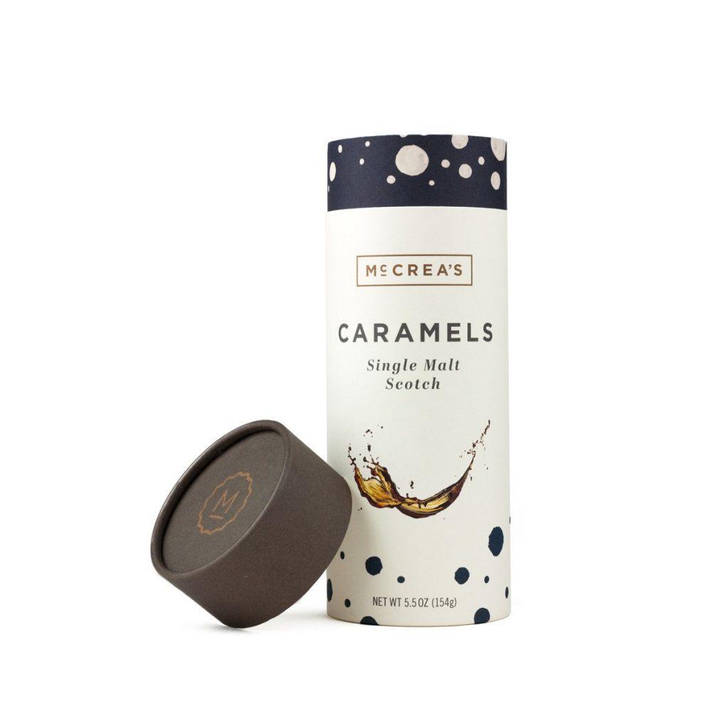 McCreas Candies Single Malt Scotch Caramels.
