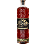 Jeptha Creed Bloody Butcher Straight Bourbon Whiskey.