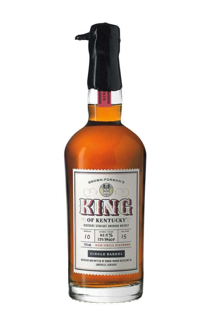 King of Kentucky 2019 Release. Photo Courtesy Brown-Forman.