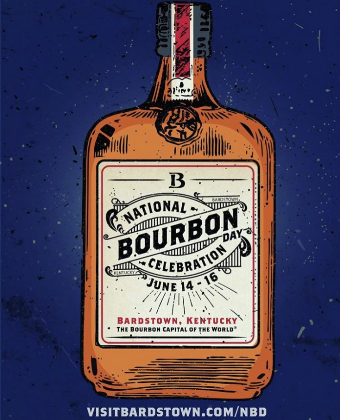 National Bourbon Day Celebrations in Bardstown Kick off June 14th, 2019.