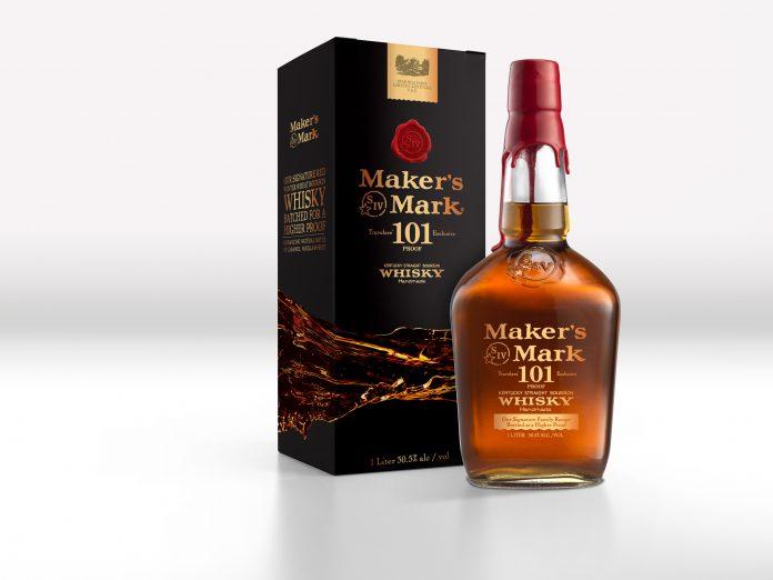 Maker's Mark 101 Proof Bourbon. Photo Courtesy Maker's Mark.