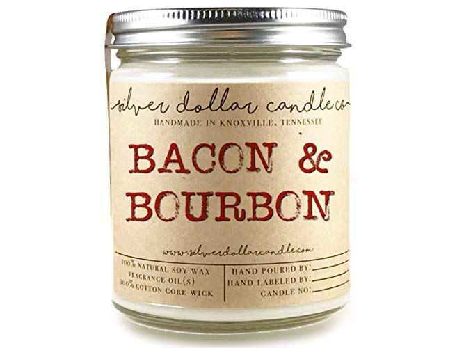 Bacon & Bourbon Candle from Silver Dollar Candle Co. Photo Courtesy Silver Dollar Candle Co.