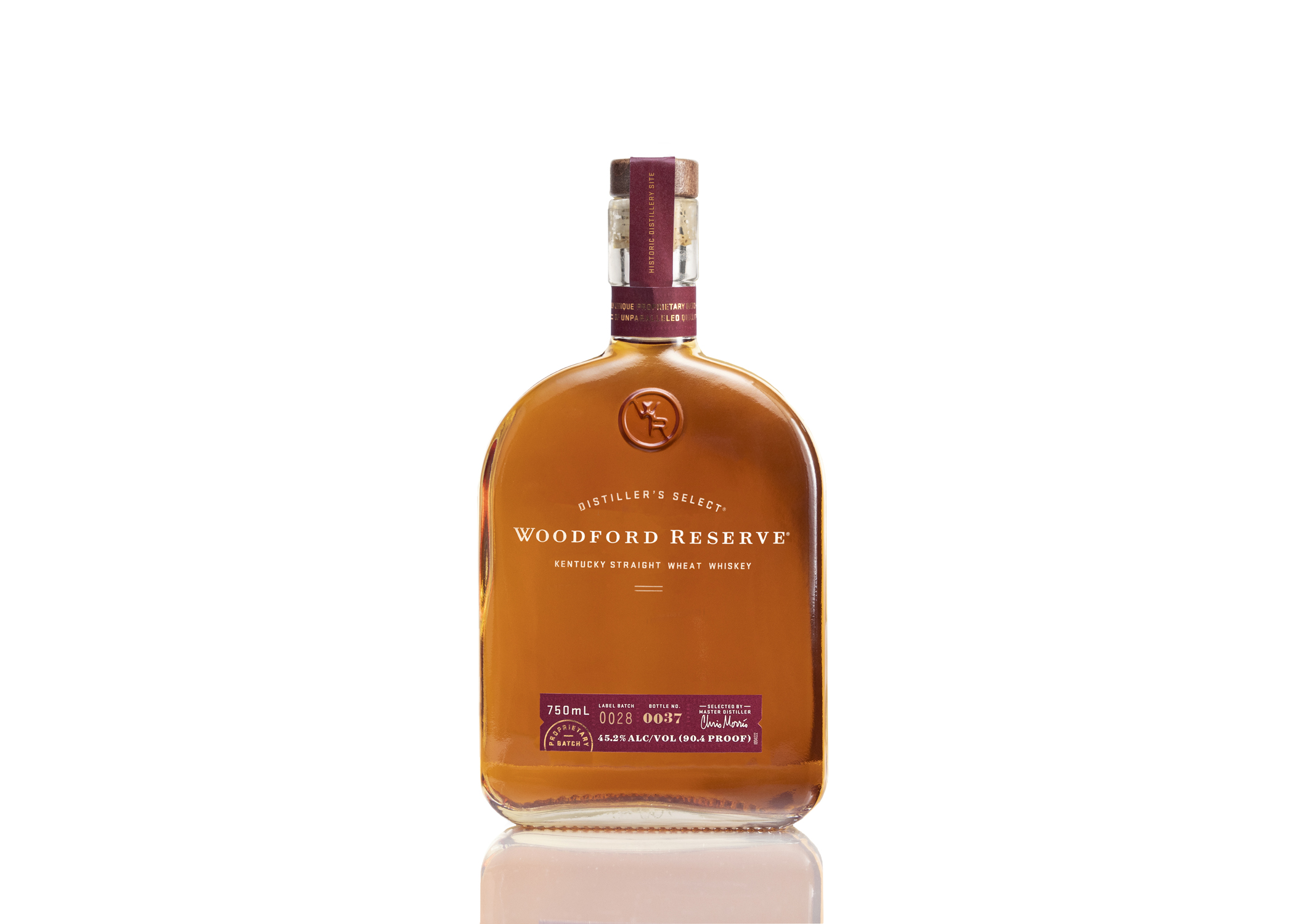 Woodford Reserve Kentucky Straight Wheat Whiskey. Photo Courtesy Woodford Reserve.