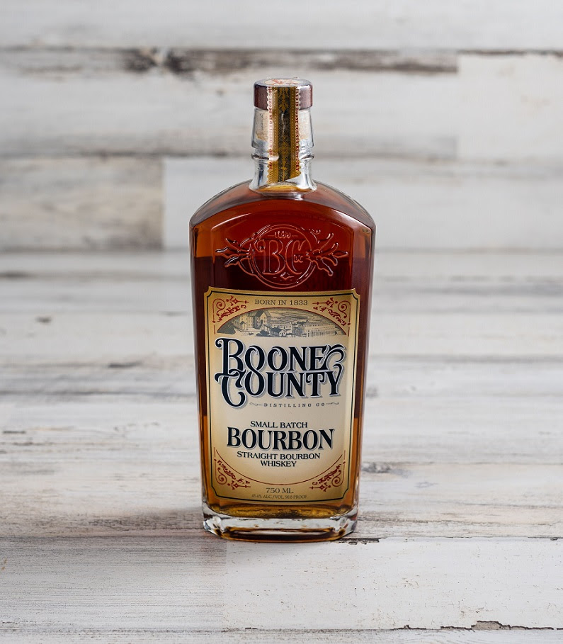 Boone County Small Batch Straight Bourbon Whiskey. Photo Courtesy Boone County Distilling Co.