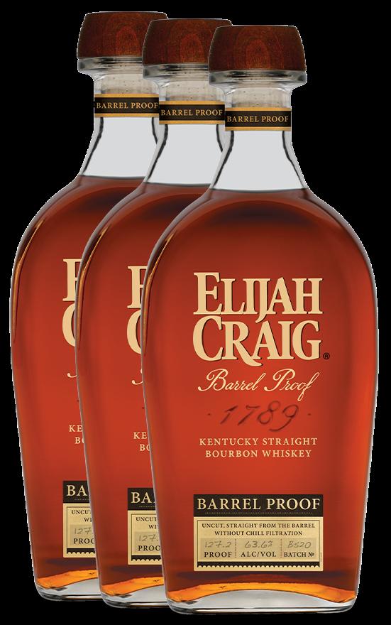 Elijah Craig Barrel Proof 2020. Courtesy Heaven Hill.