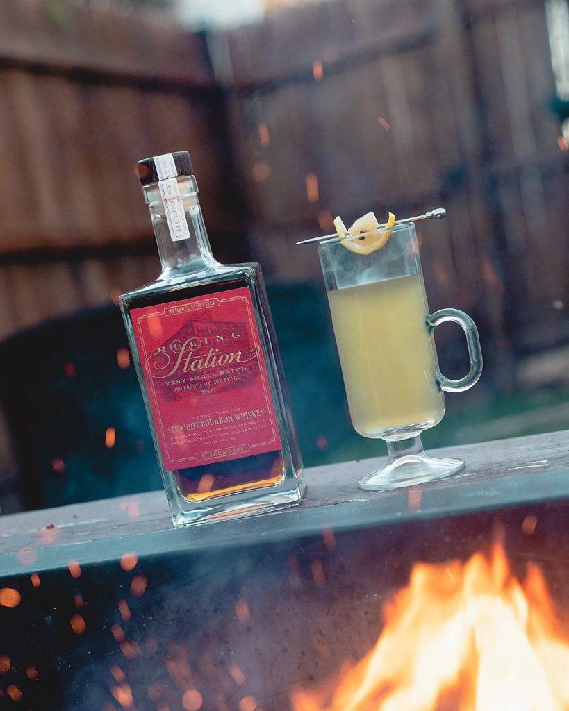 Wintry Bourbon Cocktail Recipe