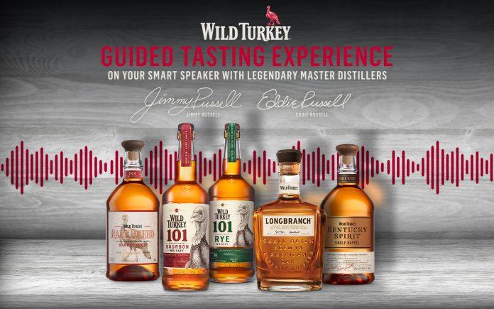 Wild Turkey Virtual Tasting Lineup