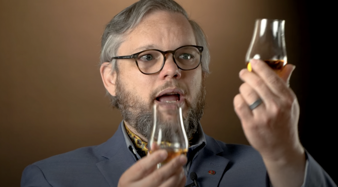 Rum, Crypto, and Mead expert Fred Minnick. Via Youtube.Fred Minnick