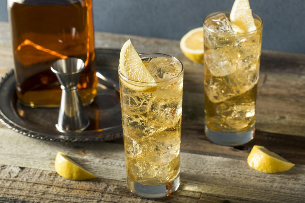Whiskey Highball Cocktail