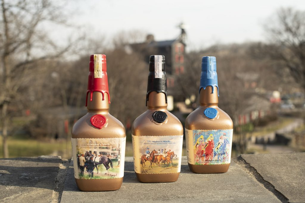 Maker's Mark Limited Edition Keeneland Bottle Set