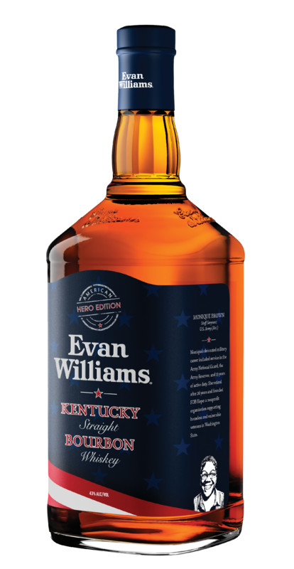 Evan Williams American Hero Monique Brown 2021. Courtesy Heaven Hill.