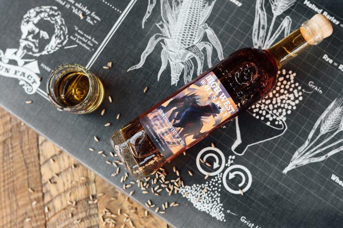 High West Artist Series Rendezvous Rye 2021. Courtesy High West Distillery.