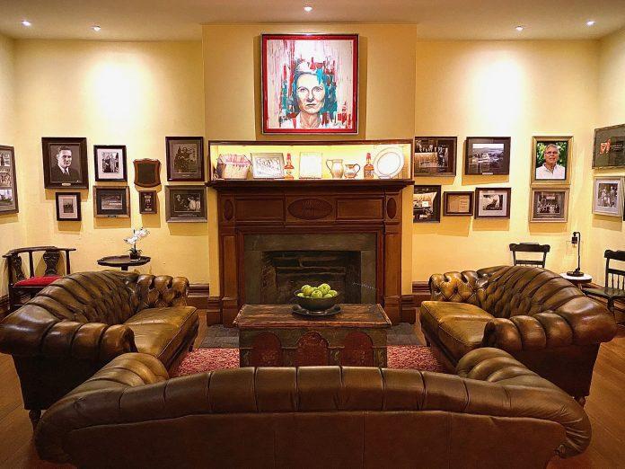 Samuels House: Living Room