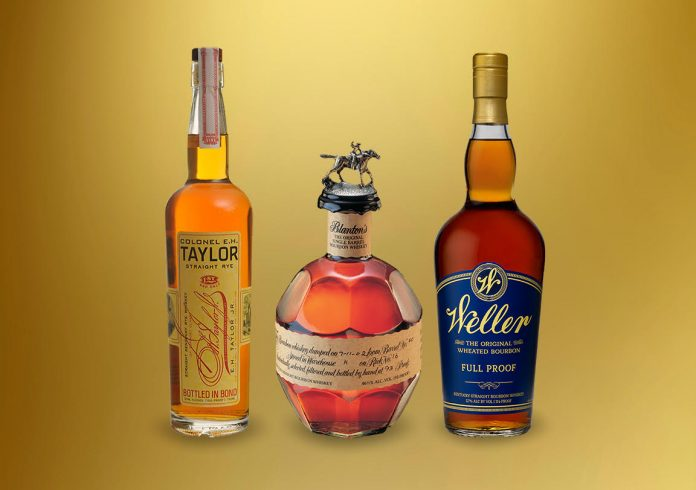 Weller Full Proof, Eh Taylor Rye and Blanton's win top award in Ultimate Spirits Competition