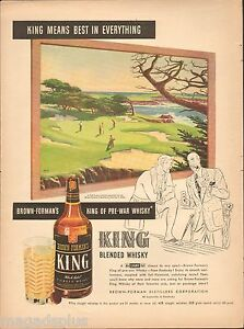 King of Kentucky vintage ad